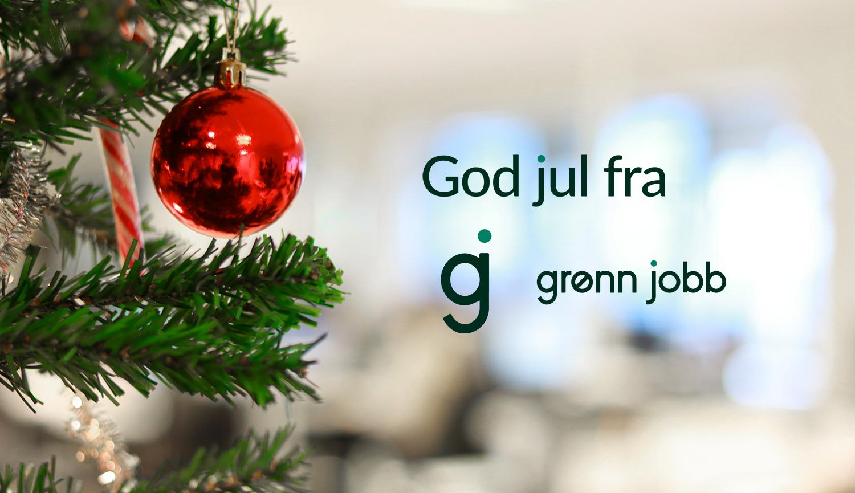 God jul fra GJ